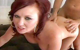 massive tit mama felony foreplay receives jizzed