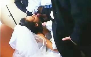 bride melissa west torn apart