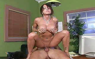 sexy mother i babe receives roughly screwed in