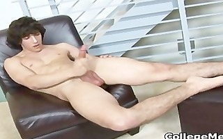 chandler cane jerking off his cute college part2