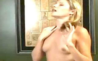 sexy dark brown andy san dimas gives babe