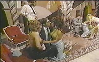 hawt vintage orgy