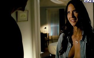 nicole moore & olivia munn topless in the