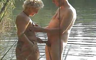 outdoor -fick im wald