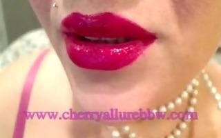 cherry allure bbw web cam model