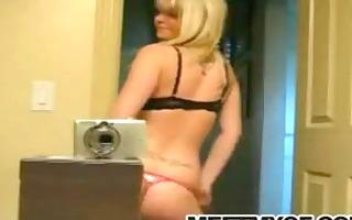 blond emo legal age teenager strip tease.flv