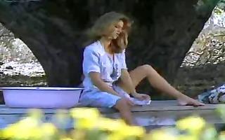 hot puplic bath (vintage scene from 1993)