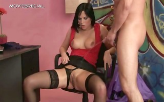bimbo in nylons getting urinated in her part4