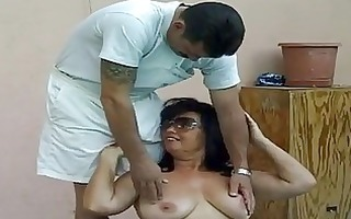 hawt breasty granny fucked by massive knob