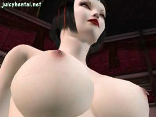 Scatological 3D-animated nymphomaniacs with