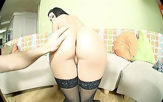 hawt brunette hair d like to fuck nailed in hot