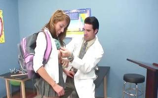 hawt schoolgirl intercourse with teacher