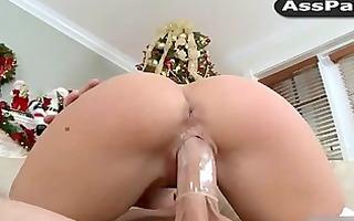 xmas fuck with rebeca linares, abella anderson