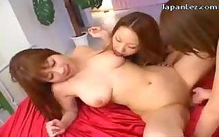 3 youthful angels licking fingering every other