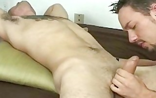 muscular boy gets his kink on