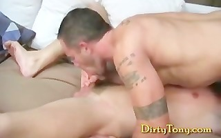 muscle stud pounds constricted bottom