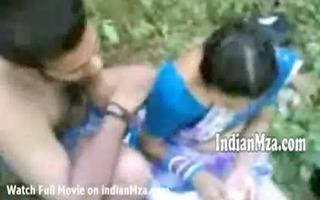 mallu aunty drilled in picnic