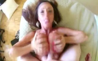 tit drilled breasty pov gal