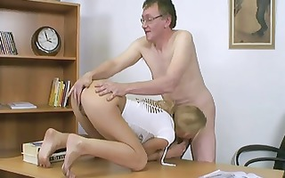 dutch student bonks her teacher