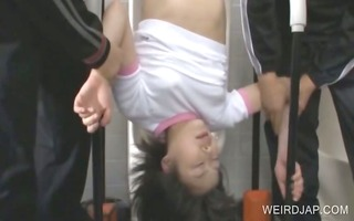 asian raunchy punishment with legal age teenager