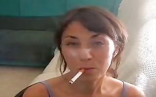 turkishqueen most good smoker ever hot dangling