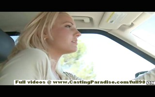 chloe james and cody love amateur golden-haired