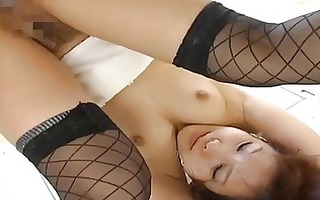 nao ayukawahot oriental model rubs her tits and