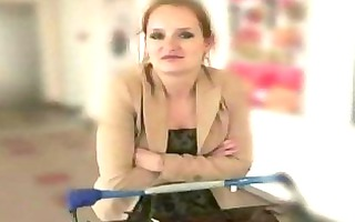 charming czech beauty flashes mambos and boned