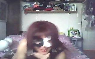 weird hawt older on livecam