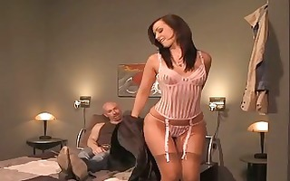 babes in underware having hot bedroom sex