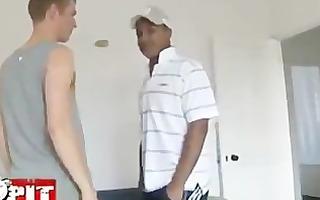 xxl black chap fucks smooth cute white chap
