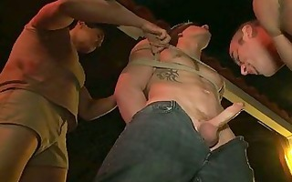 homosexual hunk is infirm about blowjobs