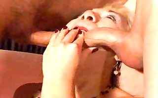 euro slut receives dped and drilled hard