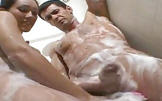hubby receives soapy pt 13