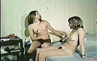 vintage: group sex in bed