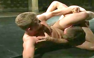 great looking homo dudes wrestle for domination