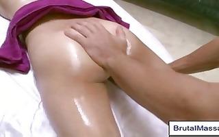 regular massage slowly leads to sensual erotic