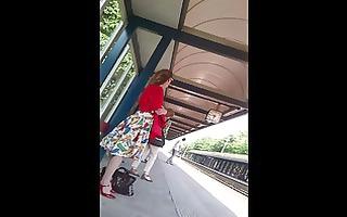upskirt escalator 27 - blond d like to fuck