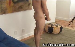kyler jerking his smooth cock part5