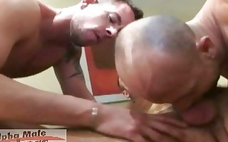 naughty gay bussinesmen having loud hard sex