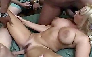 naturally buxom milf slut likes a hardcore gang