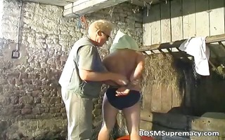 sadomasochism act in basement where lad ties part3