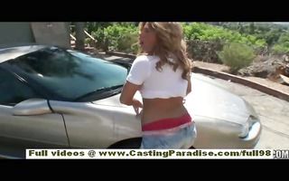 brooklyn lee non-professional brunette teen with