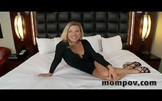 hot golden-haired mother i st time adult clip