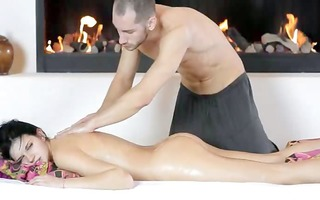 russian beauty screwed by banging machine