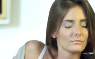 seductive glamour and her masturbation
