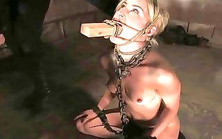 extreme dream of gal tied and double