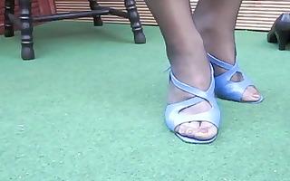 lenatv25 spezial shoeplay nylons foot-fetish s03