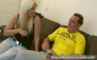 hot blonde slut gets horny talking part5