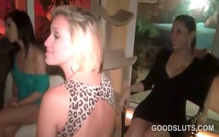 college honeys stripping and dancing at an orgy